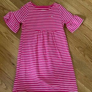 Carter's pink striped dress